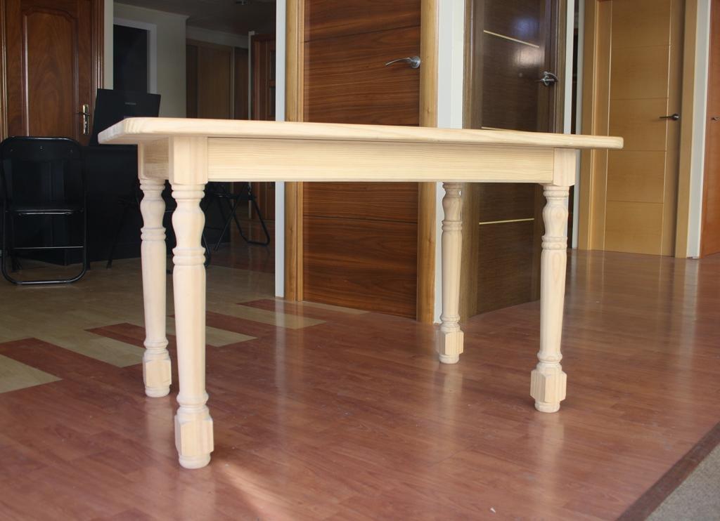 Mesas de madera como hacer una mesa rodante como hacer for Patas muebles