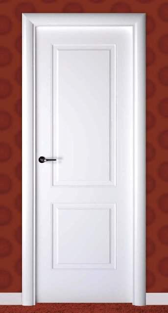 Cat logo de productos puertas de interior lacadas blancas for Puertas de madera blancas para exterior