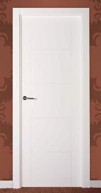 Cat logo de productos puertas de interior lacadas blancas for Casas con puertas blancas