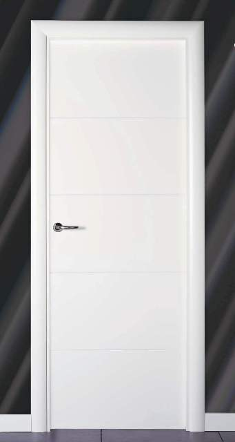 Cat logo de productos puertas de interior lacadas blancas pedro palma puertas y armarios for Precio puertas blancas