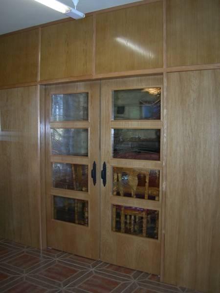 Trabajos realizados doble puerta corredera 100 4v pedro Puerta corredera doble