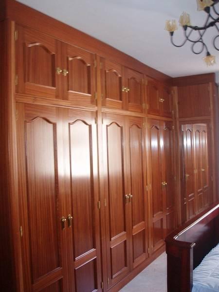 Trabajos realizados frente armario modelo visel 4 pedro - Puertas abatibles para armarios empotrados ...