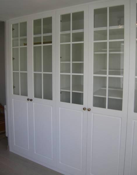Trabajos realizados frente armario 4 hojas pedro palma for Precios de armarios empotrados